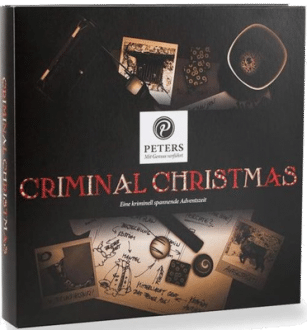 Peters Criminal Christmas Schoko Adventskalender für Erwachsene