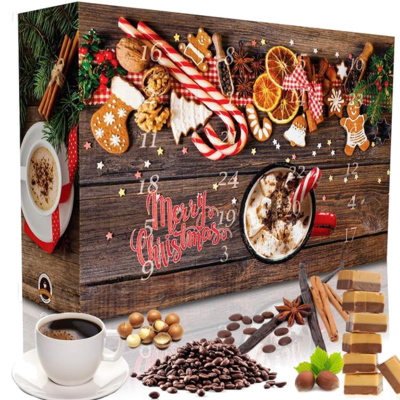 C&T Adventskalender 24 Aromatisierte Kaffees