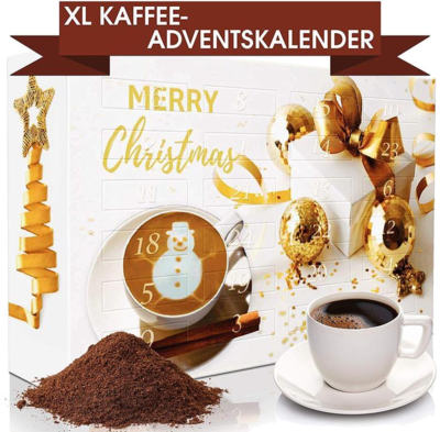C&T XL Gold Kaffee Adventskalender