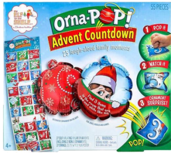 The Elf on the Shelf Orna-POP Countdown Kalender