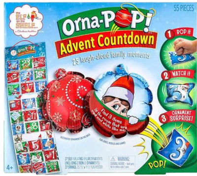 The Elf on the Shelf Orna-POP Beste Countdown. Adventskalenderideen Kinder