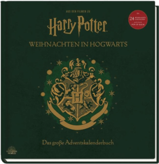 Aus den Filmen zu Harry Potter: Harry Potter Buch Weihnachten in Hogwarts