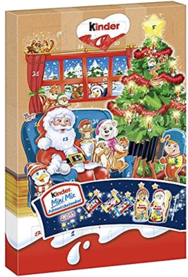Kinder Mini Mix Adventskalender 2019
