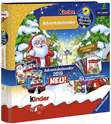 Kinder Mix Ravensburger Adventskalender 2019
