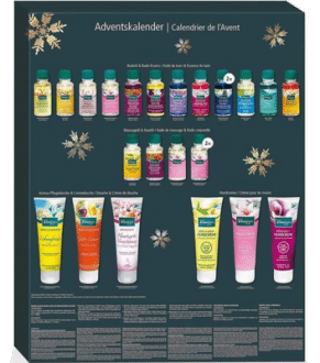 Kneipp Merry Christmas Wellness Adventskalender Inhalt