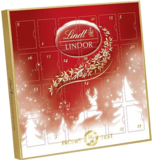 Lindt Lindor Mini Adventskalender