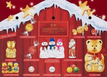 Lindt Teddy Adventskalender Inhalt