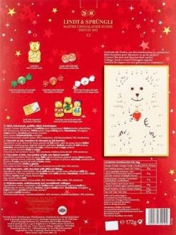 Lindt Teddy Tannenbaum Adventskalender Inhalt