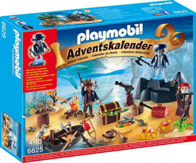 PLaymobil 6625 Adventskalender Piratenschatzinsel Geheimnisvolle