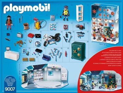 Playmobil 9007 Adventskalender Polizeieinsatz