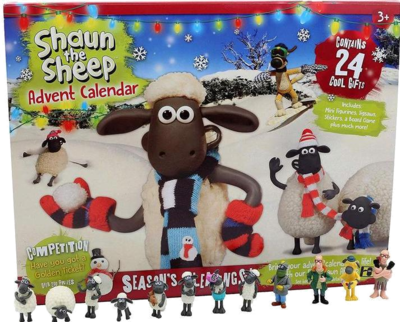Shaun the Sheep Adventskalender Spielzeug 2020