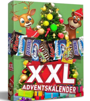 XXL Adventskalender mit m&m Friends