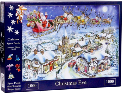 The House Of Puzzles 4487 Christmas Collectors Edition 13 - Christmas Eve 1000 Teile