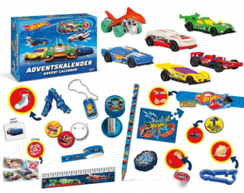 Craze 13908 - Hot Wheels Adventskalender Inhalt