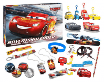 Craze 57361 Disney Cars 3 Adventskalender Pixar Inhalt