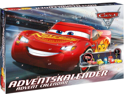 Disney Pixar Cars 3 57361 Craze Adventskalender für Jungs