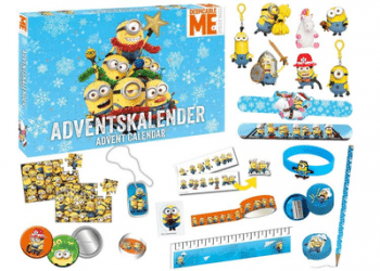 Craze 57422 Minions Adventskalender Inhalt