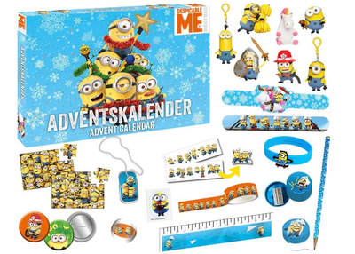 Craze 57422 Minions Adventskalender 2017 Inhalt