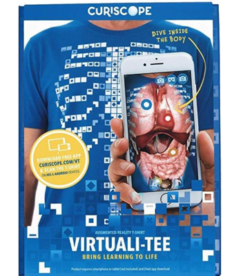 Curiscope Virtuali-Tee Lehrreiches Augmented-Reality-T-Shirt