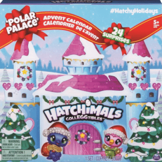 Hatchimals 6044284 - Hatchimals Colleggtibles Adventskalender Spielzeug 2020