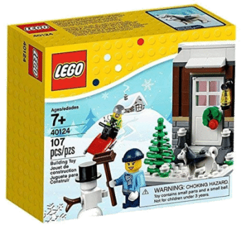 LEGO Weihnachten 40124 Winter Fun