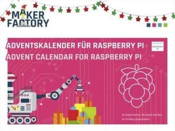 MAKERFACTORY Adventskalender für Raspberry Pi