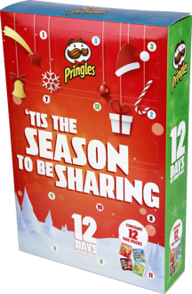 Merry Pringles 12 Days of Christmas Adventskalender