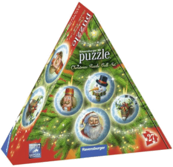 Ravensburger 11678 3D Christmas Puzzle-Ball Set