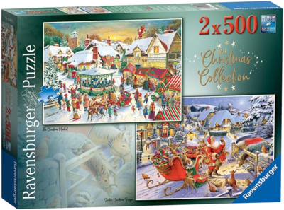 Ravensburger 15031 Collection No.1 Weihnachtspuzzle 2019 500 Teile