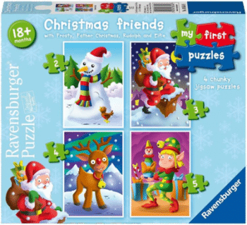 Ravensburger 6854 My First Puzzle Christmas Friends