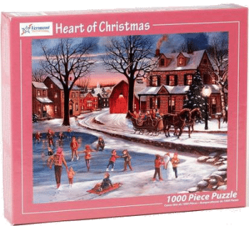 Vermont Christmas Company Heart of Christmas Puzzle 1000 Teile