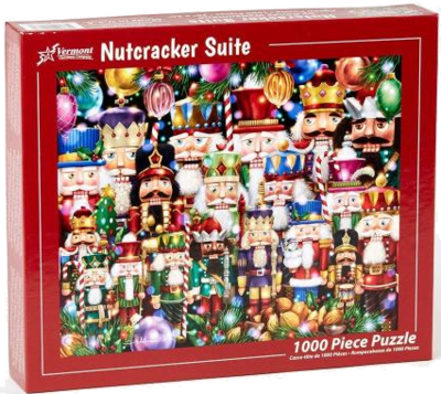 Vermont Christmas Company Nutcrackers 1000 Teile Puzzle Weihnachten