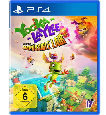 YOOKA-LAYLEE AND THE IMPOSSIBLE LAIR 2019 Videospiel