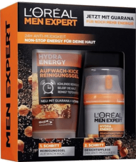 L'Oreal Men Expert Hydra Energy Set Vatertagsgeschenk 2021