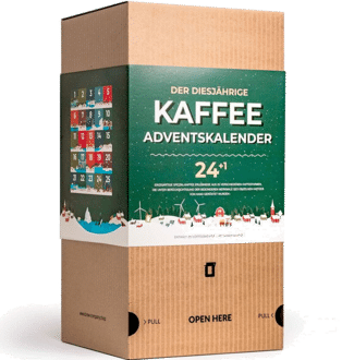 Grower's Cup gemahlener Kaffee Adventskalender 2020