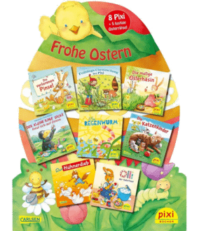 Pixis Riesen-Osterei Frohe Ostern