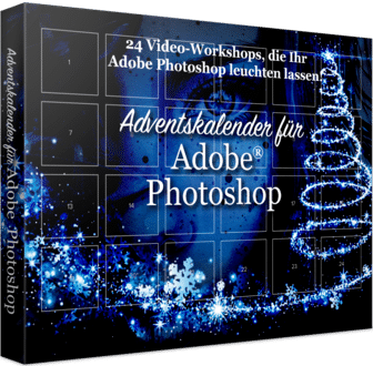 Franzis Adventskalender für Adobe Photoshop
