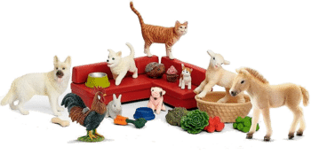 Schleich 97700 Adventskalender Farm World 2018 Inhalt