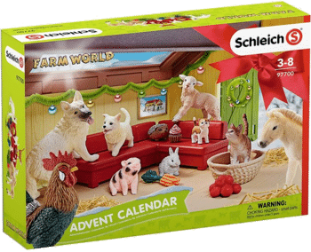 Schleich 97700 Adventskalender Farm World 2018