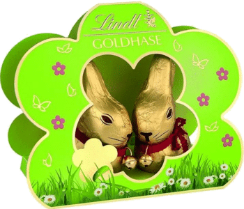 Goldhase in der Blume