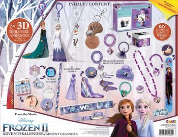 CRAZE 24652 Adventskalender Frozen II Inhalt