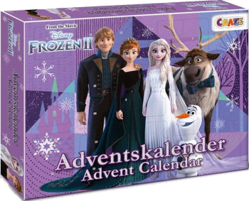 CRAZE 24652 Adventskalender Frozen II 2020