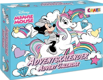CRAZE 24669 Adventskalender Minnie Mouse 2020