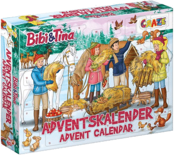 CRAZE 24676 Adventskalender BIBI & Tina 2020