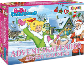 CRAZE 25291 Adventskalender Bibi Blocksberg 2020