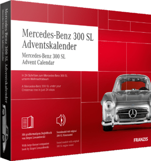 Franzis 67129 Mercedes-Benz 300 SL Adventskalender