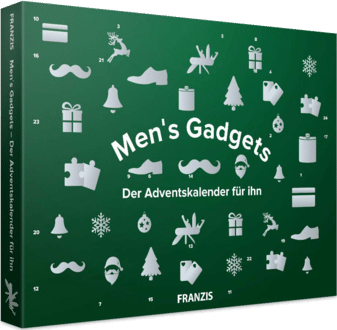 Franzis 67141 Men's Gadget Adventskalender 2020