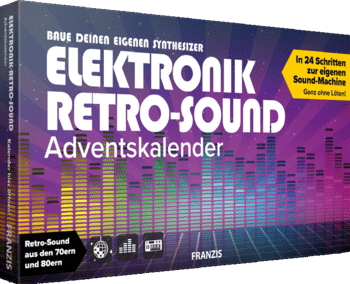 Franzis 67176 Elektronik Retro-Sound Adventskalender 2020