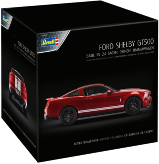 Revell 01031 Ford Shelby GT Adventskalender 2021