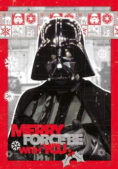 Undercover SWHX8020Y Merry Force be with You Weihnachtskalender